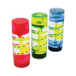 Flüssigkeits-Sanduhren, Zylinder, 3-er