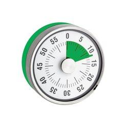 Kurzzeitmesser, ca. 8 cm, magnetisch, grün