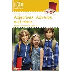 LÜK Adjectives, Adverbs and More, Heft, 6. Klasse