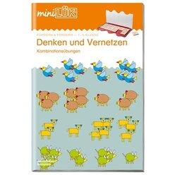 miniLÜK Denken und Vernetzen 1, Übungsheft, 1.-3. Klasse
