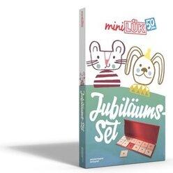 miniLÜK Jubiläums-Set mit dem Original-miniLÜK-Lösungsgerät plus 3 Übungshefte, 4-7 Jahre