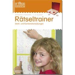 LÜK Rätseltrainer 1. 1.-3. Klasse