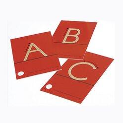 Spürkarten Großbuchstaben, 4-6 Jahre