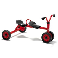 Winther® MINI VIKING Rutsch Dreirad für zwei 8600432