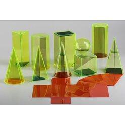 Geometrie Modelle 7,5/15 cm mit Schnitte aus RE-Plastic°