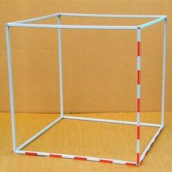 Kubikmeter mit Einteilung  aus RE-Plastic°, Bausatz mit Profilstäben, 10-15 Jahre