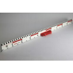 Tafellineal Dezi- und Zentimeter-Lineal 100 cm Magneto mit Vollmagnetstreifen aus RE-Plastic° PROFI-linie (160300.M20)