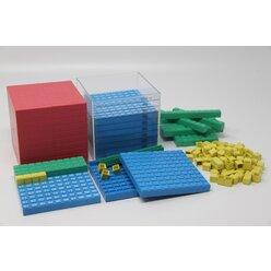 Rechensystemsatz 1000er Zahlenraum mit Kubikdezimeterhülle aus RE-Plastic°