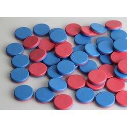 Wendeplättchen 50 Stück aus RE-Plastic° im Polybeutel