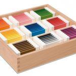 Montessori Farbtäfelchen