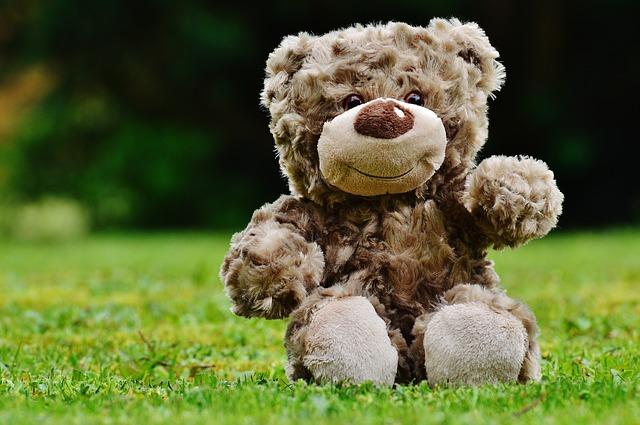 Nachhaltiges Spielzeug Teddy