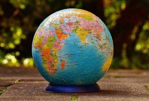 Puzzlespiel Globus 3D-Puzzle