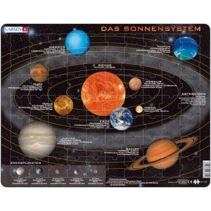 Puzzlespiel Sonnensystem Larsen