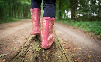 Jeden Tag auf Kinderbeinen durch den Wald